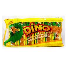 Galletas De Vainilla DINO 10 Paquetes