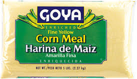 Harina de Maiz Amarilla Fina GOYA 12 Oz