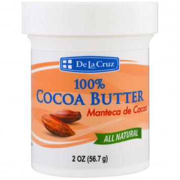 Manteca de Cacao DE LA CRUZ 2 Oz