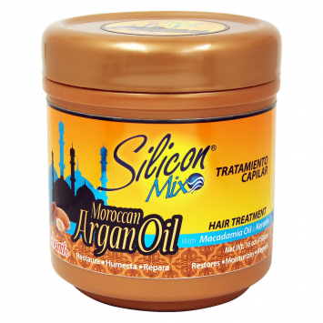 Tratamiento Moroccan Argan Oil SILICON MIX 16 Oz