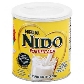 Leche Nido Fortificada NESTLE 12.6 Oz