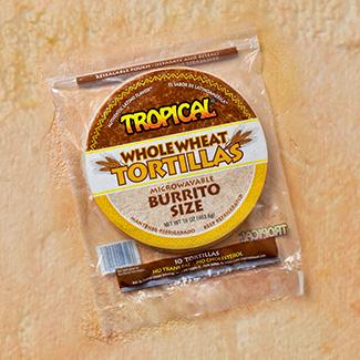 Tortillas de Trigo Size Burrito TROPICAL 16 Oz
