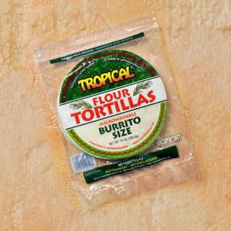 Tortillas size Burrito TROPICAL 14 Oz