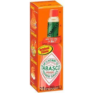 Salsa Picante TABASCO 2 Oz