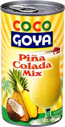 Piña Colada Mix Coco GOYA 12 Oz