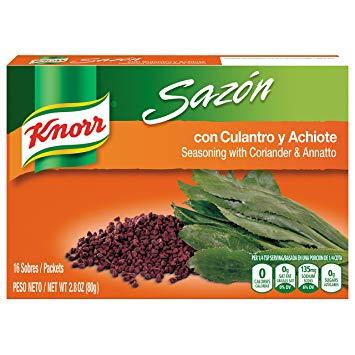 Sazon Con Culantro & Achiote KNORR 2.11 Oz