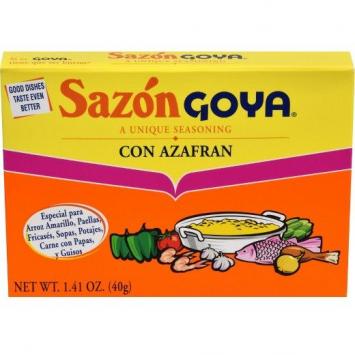 Sazon Con Azafran GOYA 1.41 Oz 8 PK