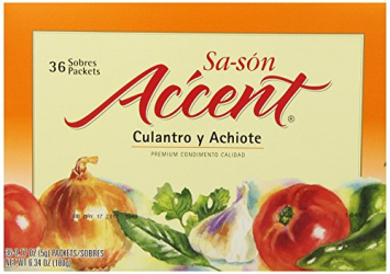 Sa-zon Con Culantro y Achiote ACCENT 6.34 Oz