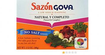 Sazon Natural & Completo GOYA 3.52 Oz