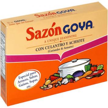 Sazon Con Culantro Y Achiote GOYA 1.41 Oz 8 Sobres