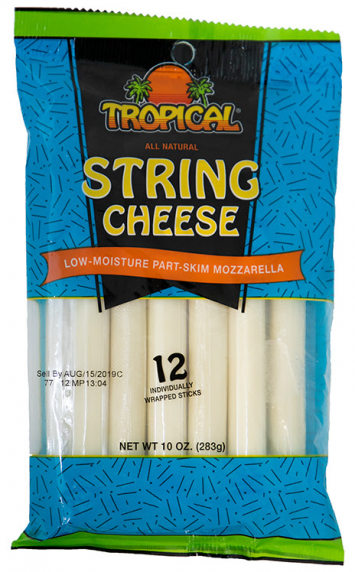 Palitos de Queso Mozzarella TROPICAL 10 Oz