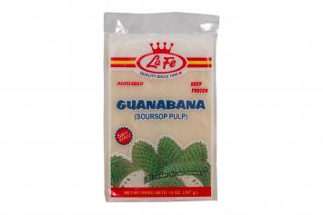 Jugos Frisados Guanabana LA FE
