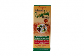Balsamic Bronchial Honey ALOPECIL 12 Oz