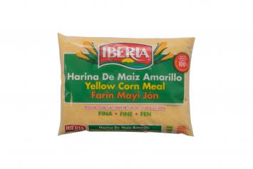 Harina de Maiz Amarilla IBERIA 24 Oz