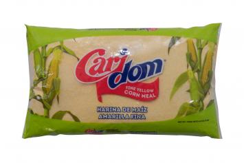 Harina de Maiz Amarilla Fina CARIDOM 32 Oz