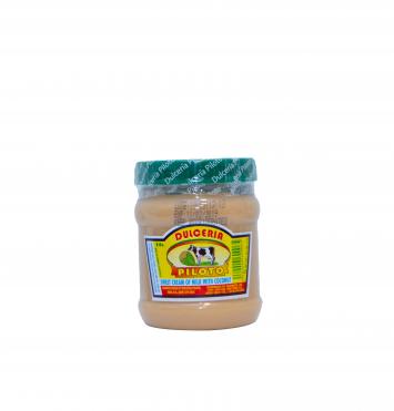 Dulce en Crema de Coco Y Leche Dulceria Piloto 8oz