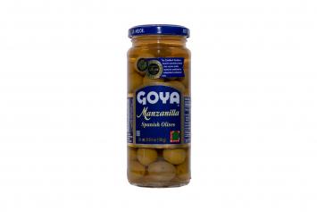 Manzanilla Spanish Olives GOYA 6-3/4 oz
