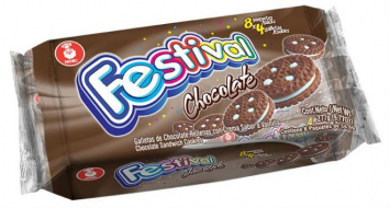 Galleta de Chocolate FESTIVAL 11.9 OZ