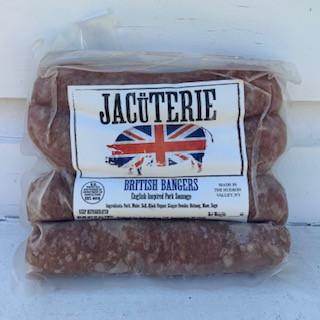 Jacuterie- BRITISH BANGERS SAUSAGE