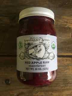 Sauerkraut Seth's Red Apple Raw Sauerkraut