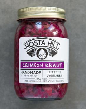 Hosta Hill Sauerkraut, Crimson