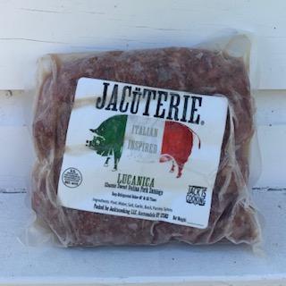 Jacuterie- LUCANICA SAUSAGE