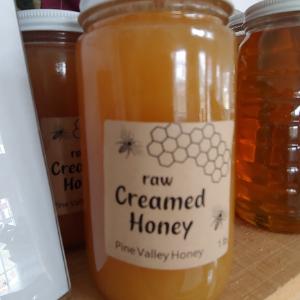 Honey, Pine Valley - Creamed, 1 lb