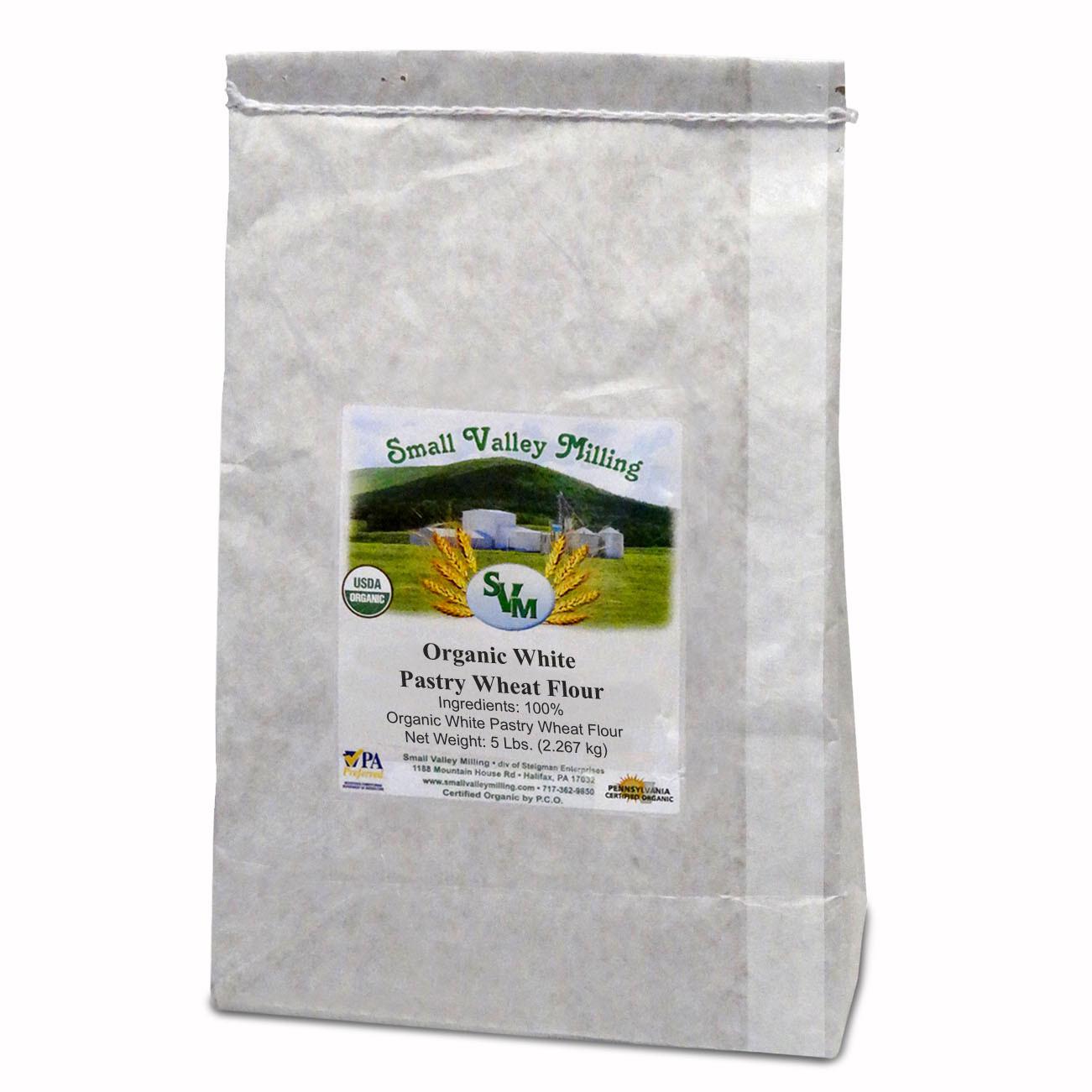 Flour, ORGANIC, White Wheat Pastry