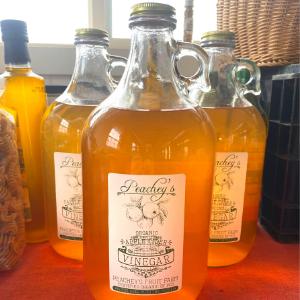 Peachey's Organic Apple Cider Vinegar, 1/2 Gallon
