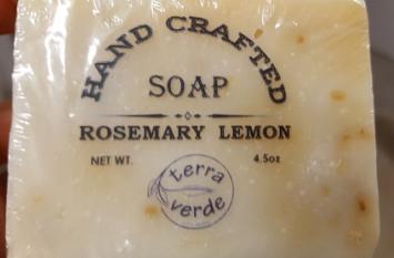 Soap from Terra Verde - Rosemary Lemon