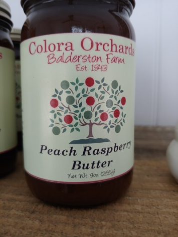 Colora Orchards Peach Raspberry Butter