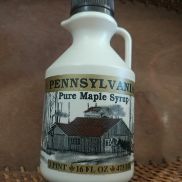 Maple Syrup from Northern PA