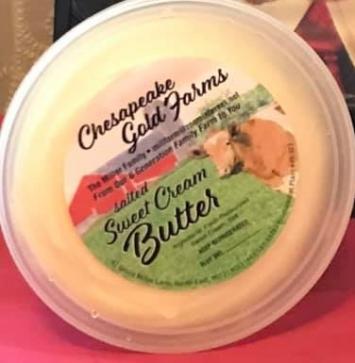 Butter, Sweet Cream