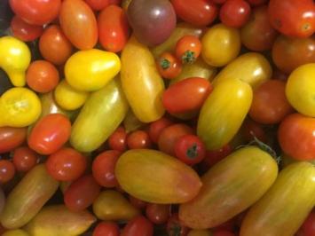 Cherry Tomatoes, Mixed Varieties