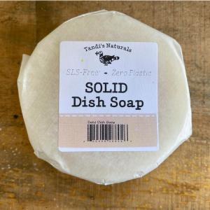 Solid Bar Dish Soap