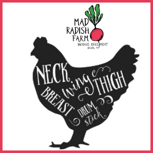 Chicken Feet, Mad Radish Farm
