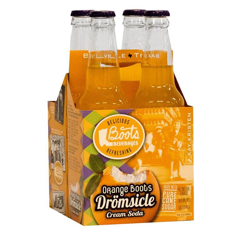 Boot's Dromsicle Orange Soda