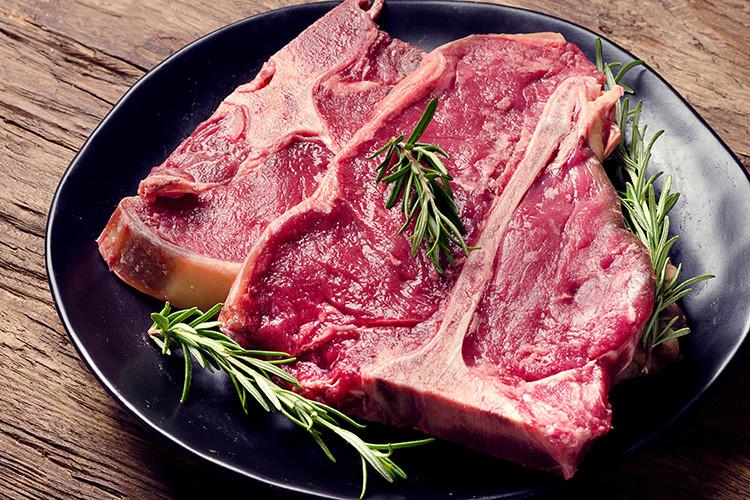 Beef Porterhouse Steaks - USDA Choice