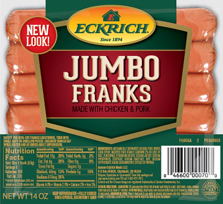 Eckrich Jumbo Franks