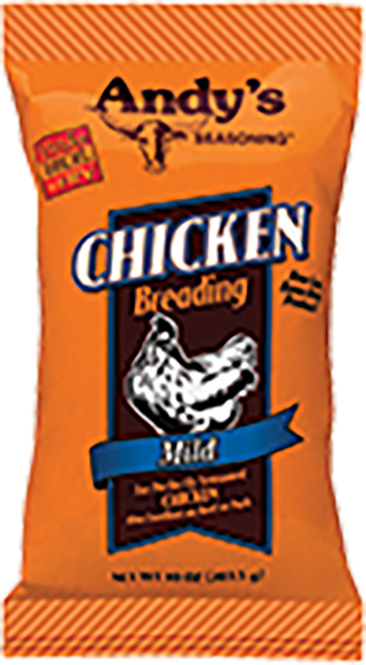 Andy's Mild Chicken Breading