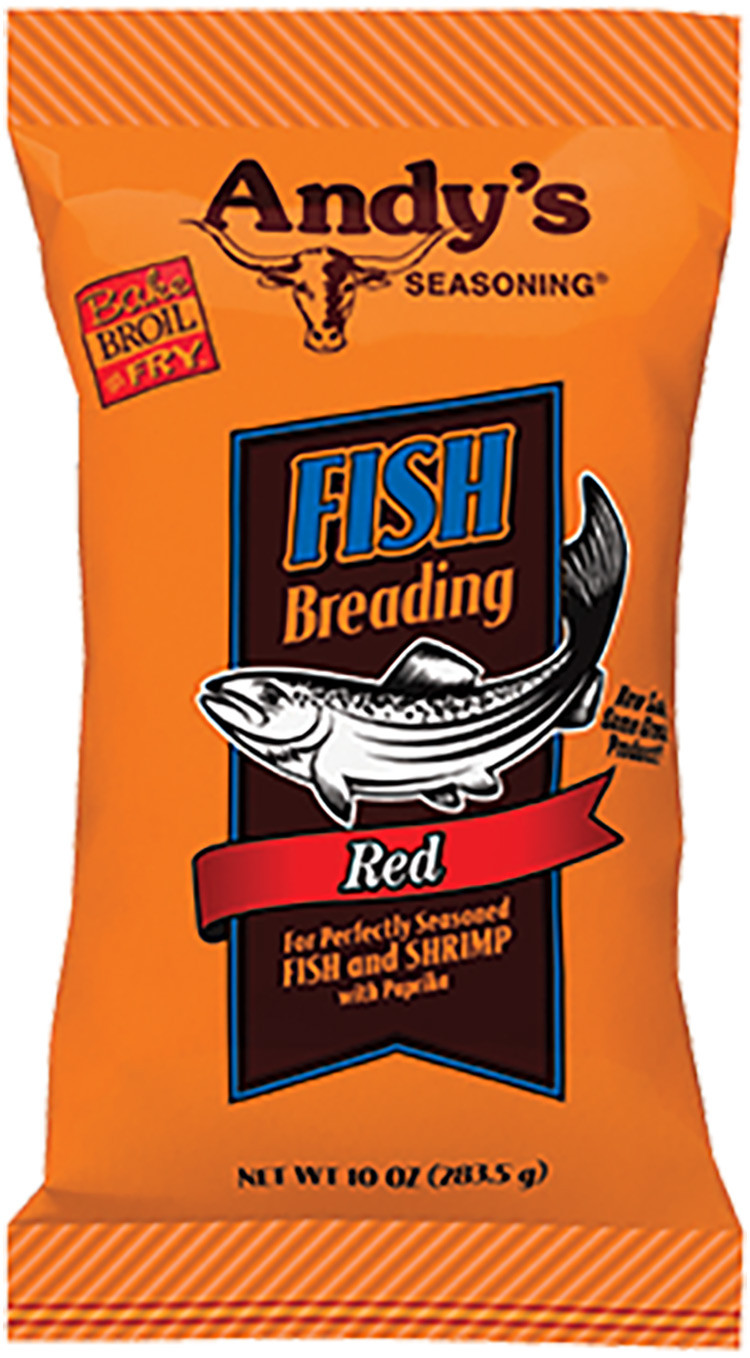 Andy's Red Fish Breading