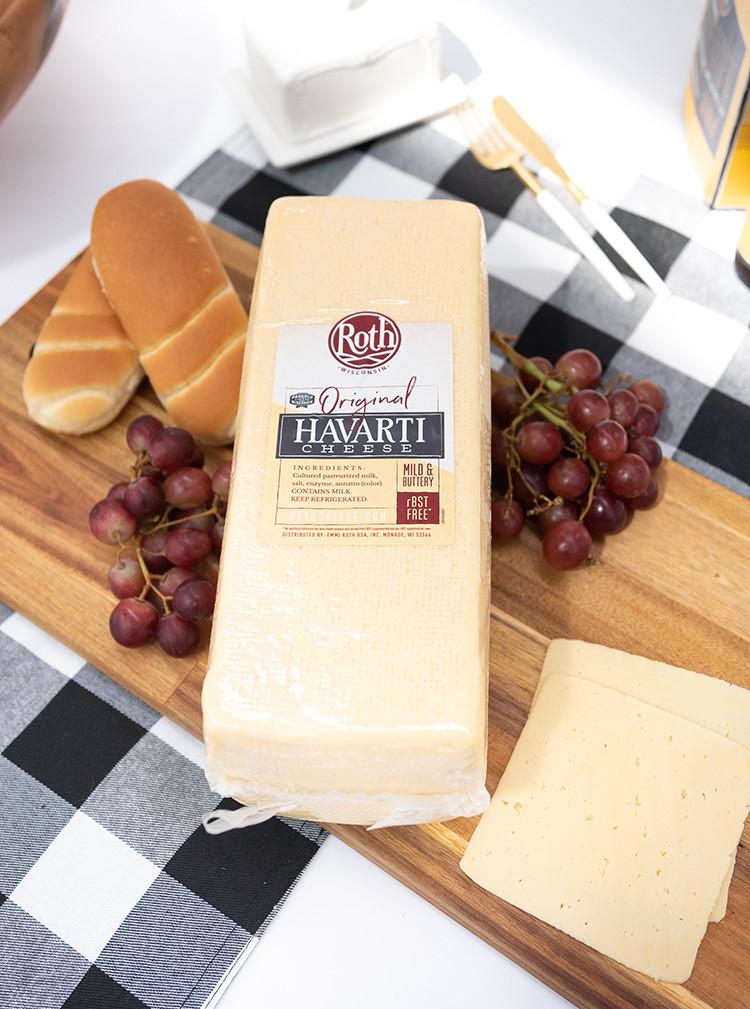 Deli Sliced - Havarti Cheese