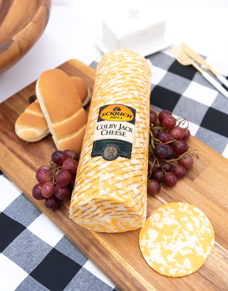 Deli Sliced Colby Jack Cheese - Eckrich