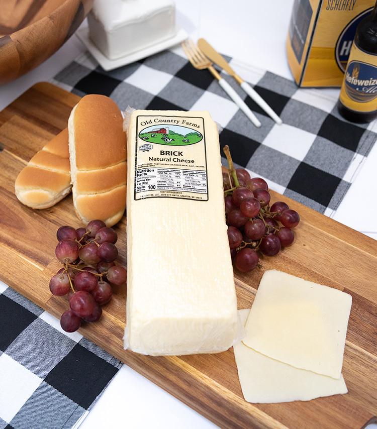 Deli Sliced - Brick Cheese