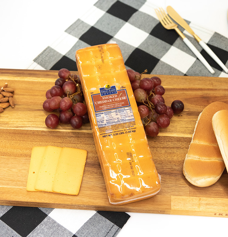 Deli Sliced Cheddar Cheese - Smoked Cheddar