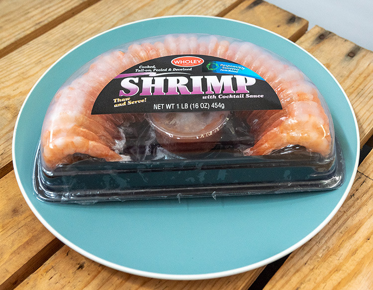 Wholey 1/2 Shrimp Ring with Sauce