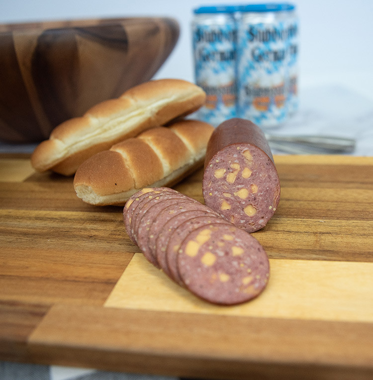 Store Made Jalapeno & Cheese Summer Sausage