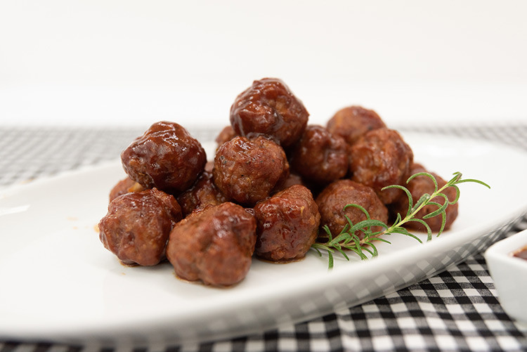 Store Made Meatballs in BBQ or Marinara Sauce