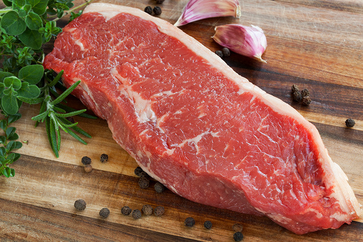Beef Strip Steaks - USDA Choice