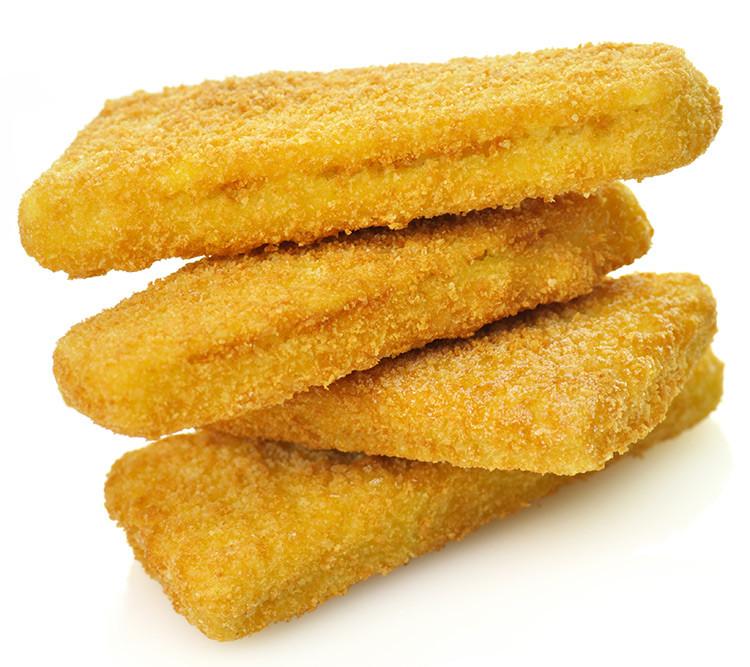 Breaded Cod Squares